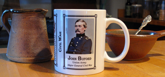 John Buford from our Civil War series.