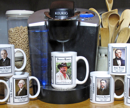 Sip a bit of history with your morning coffee.