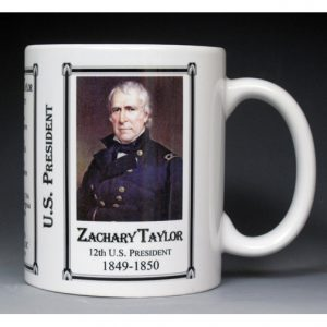 12th US President Zachary Taylor mug