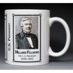 13th US President Millard Fillmore mug