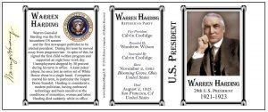 29-Harding, Warren G -Tri-Panel-SEAL