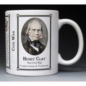 Henry Clay, Civil War mug