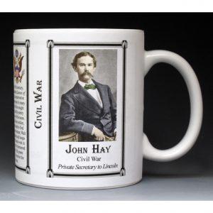 John Hay, Civil War mug