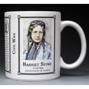Harriet Beecher Stowe, Civil War mug