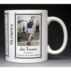 Jim Thorpe, Olympic mug