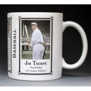 Jim Thorpe, Baseball mug