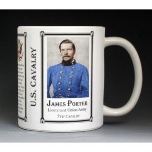 James Porter US Cavalry history mug.