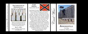 Andersonville Prison – Camp Sumter Civil War history mug tri-panel.