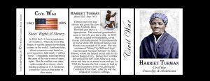Harriet Tubman Civil War Union history mug tri-panel.