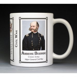 Ambrose Burnside, Civil War mug