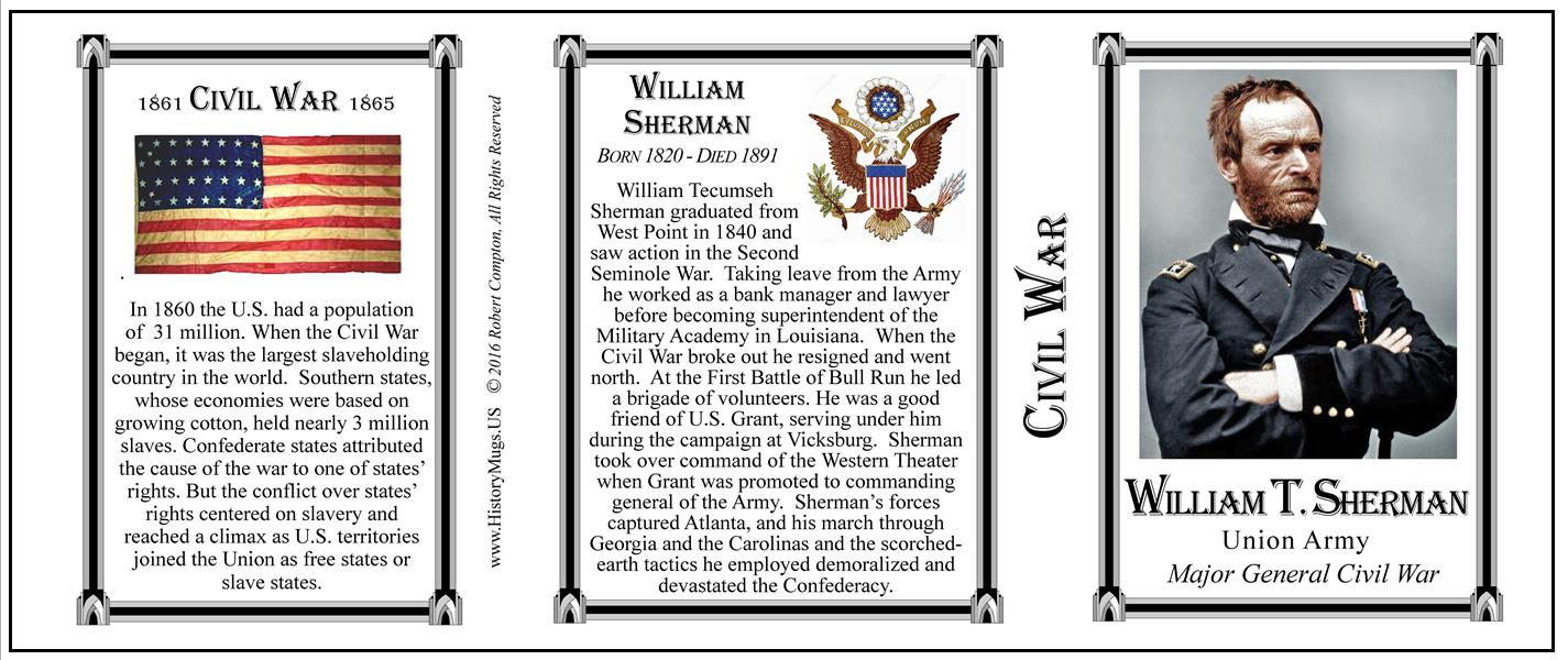 a biography of william tecumseh sherman an american war general The new york times best-selling biography of one of america's most storied military figures general william tecumseh sherman's 1864 burning of atlanta solidified his legacy as a ruthless leader.