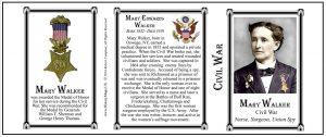 US-Walker, Mary Edwards-Tri Panel-COLOR-Civil War
