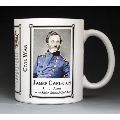 James Carlton, Civil War mug
