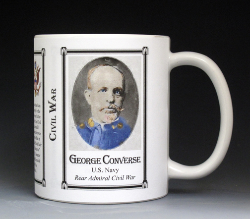 George Converse Civil War Union Army history mug.