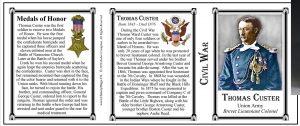 Custer,Thomas W- Tri Panel-Civil War-BEST