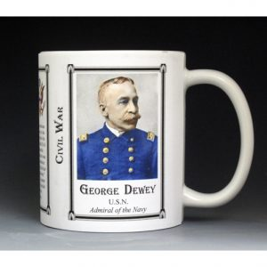 George Dewey Civil War Union Army history mug.