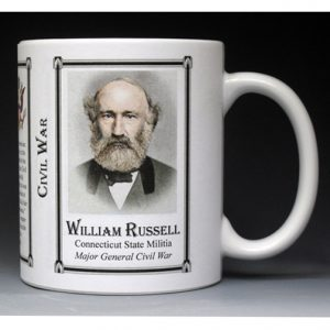 William Russell Civil War Union Army history mug.