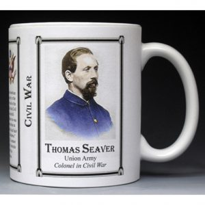 Thomas Seaver Civil War Union Army history mug.