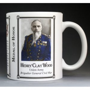 Henry Clay Wood Medal of Honor mug