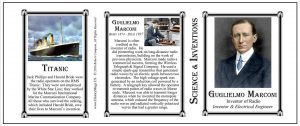 Guglielmo Marconi Scientist & Inventor history mug tri-panel.