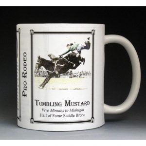 Five Minutes to Midnight Pro-Rodeo history mug.
