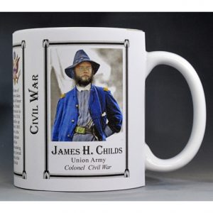 James Childs Civil War history mug.