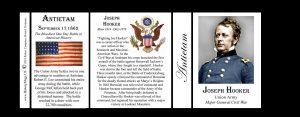 Joseph Hooker, Antietam history mug tri-panel.