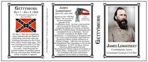 Longstreet, James- Tri Panel-GETTYSBURG