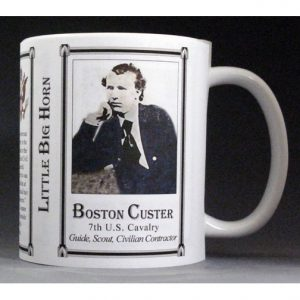 Boston Custer history mug
