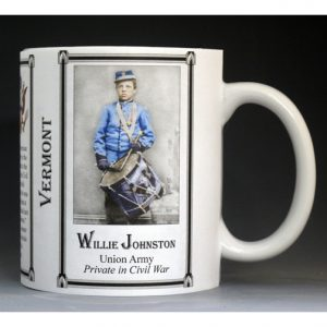Willie Johnston Vermont mug