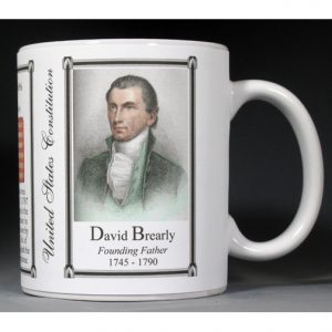 David Brearly US Constitution history mug.