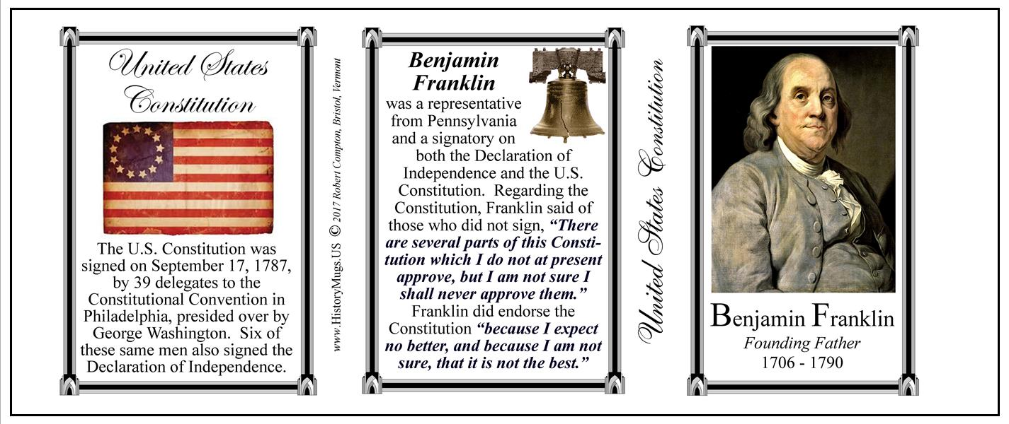 Franklin Benjamin United States Constitution