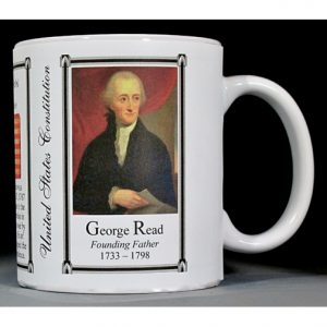 George Read US Constitution history mug.