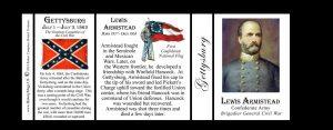 Lewis Armistead, Gettysburg officer, history mug tri-panel.