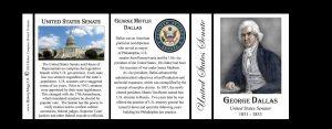 George Dallas US Senator history mug tri-panel.