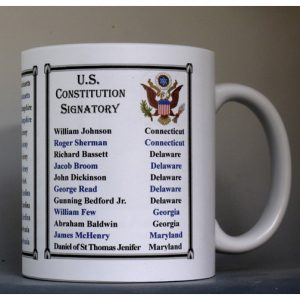 All The US Constitution Signatories history mug.