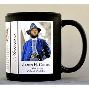 James Childs Antietam history mug.