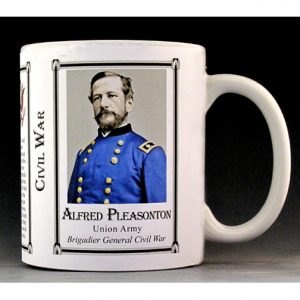 Alfred Pleasonton Civil War Union Army history mug.