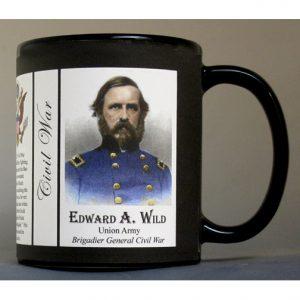 Edward A. Wild Civil War Union Army history mug.