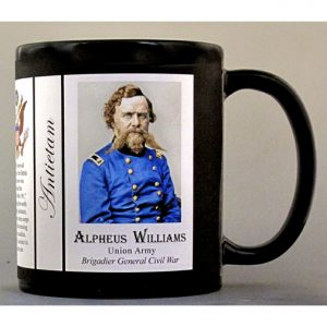 Alpheus Williams, Antietam history mug.