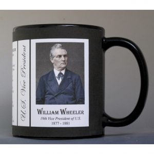 William Wheeler US Vice President history mug.