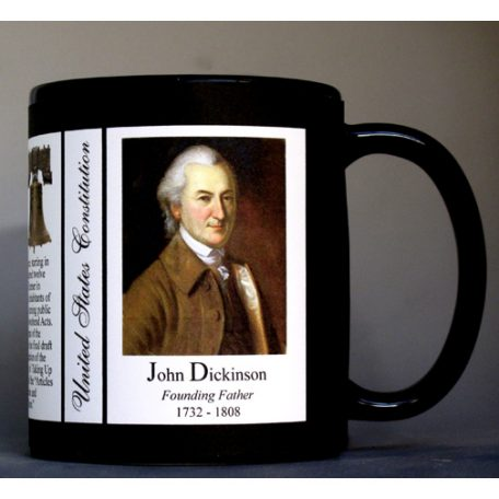 John Dickinson US Constitution history mug.