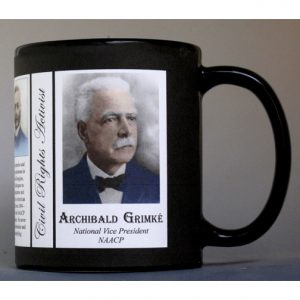 Archibald Grimké Civil Rights Activist history mug.
