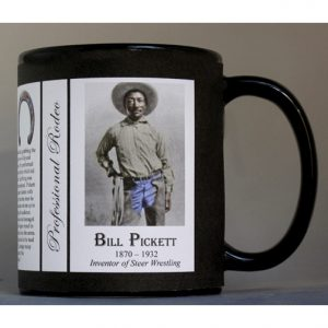 Bill Pickett Pro-Rodeo history mug.