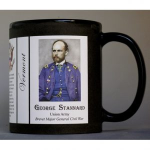 George Stannard Vermont history mug.