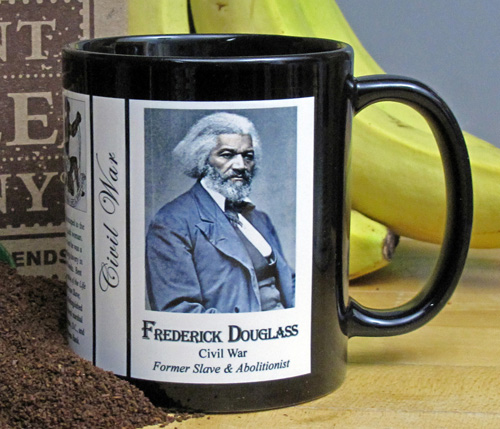 Frederick Douglass history mug.