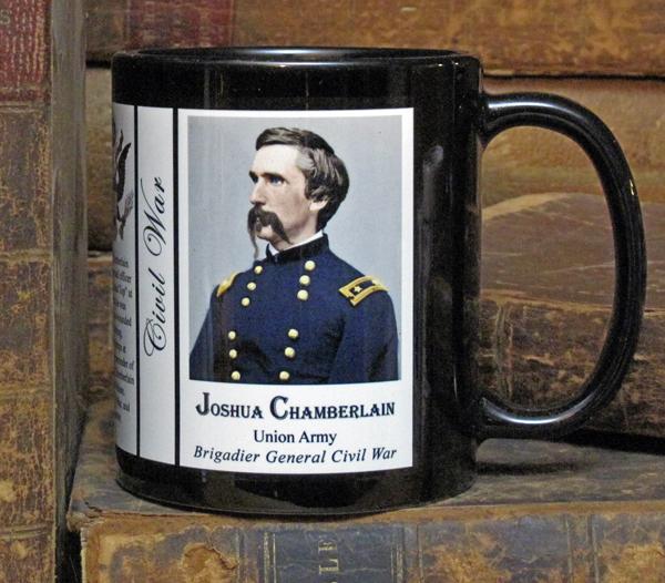 Joshua Chamberlain Civil War history mug.