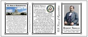 Robert Smalls US Representative history mug tri-panel.