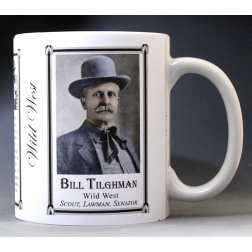 "Bill Tilghman ""wild west"" history mug."