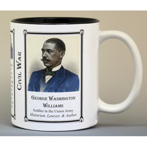 George Washington Williams Civil War history mug.